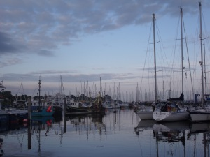 Lymington Harbour at Sunset